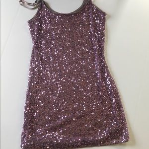 Charlotte Russe Sequined Tank